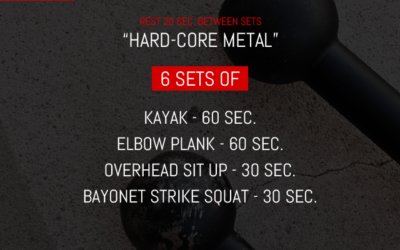 Steel Mace Workout for Abs / Core