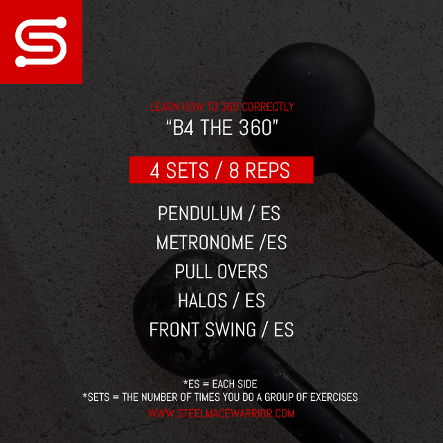 Steel Mace Workout to improve your 360