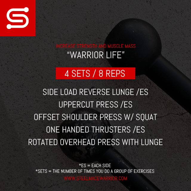 Steel Mace Workout for a Warrior Body