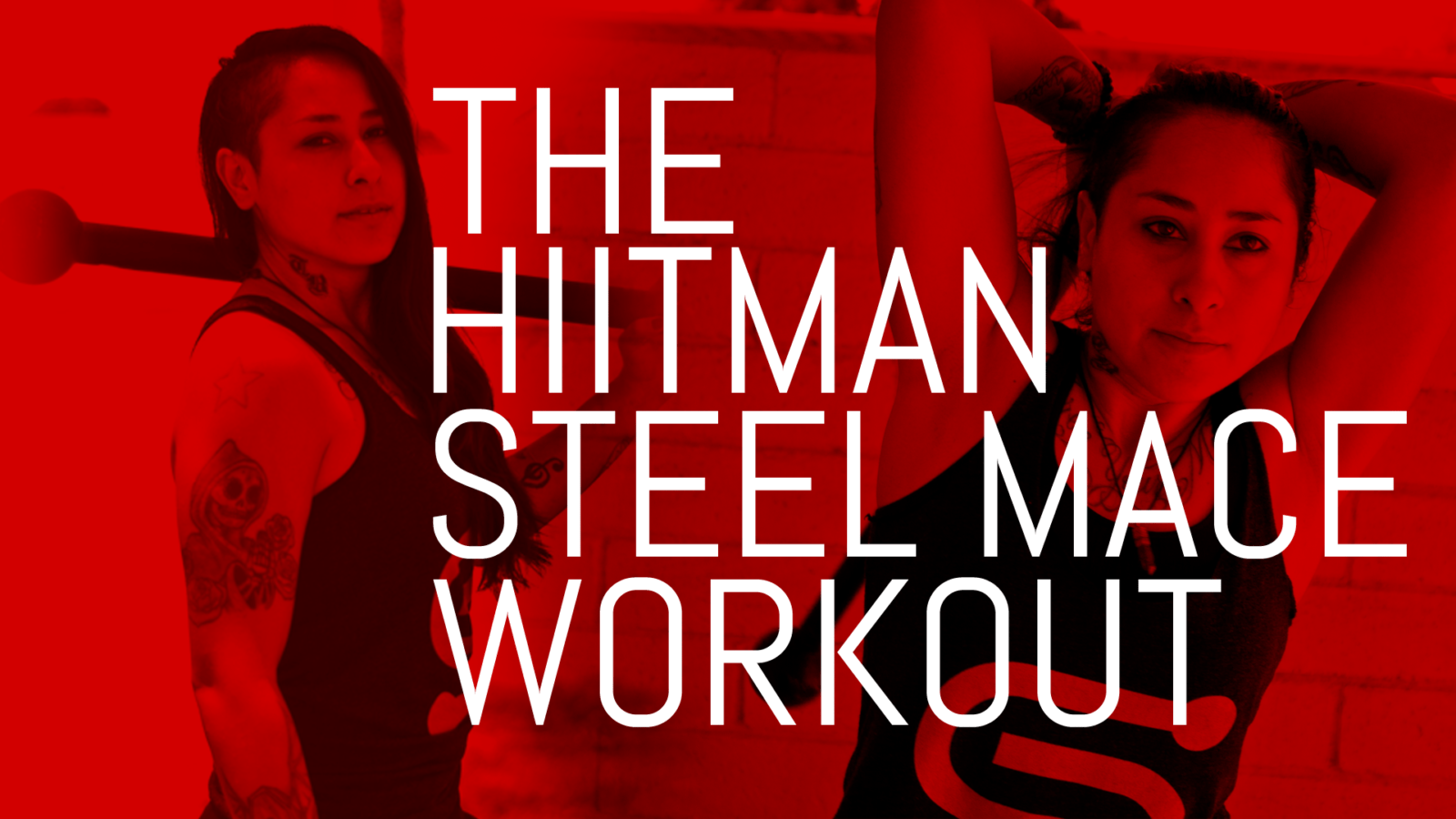The HIITMAN Steel Mace Workout