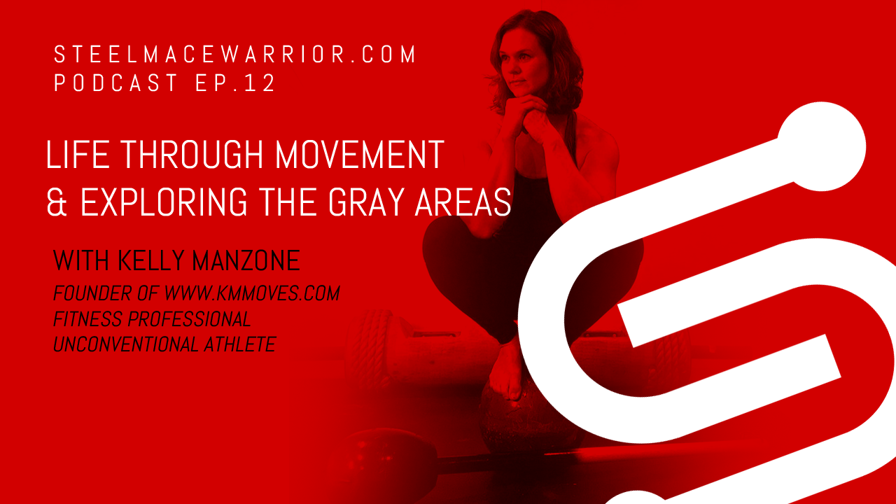 EP #12 – Life through Movement and Exploring the Gray Areas with Kelly Manzone