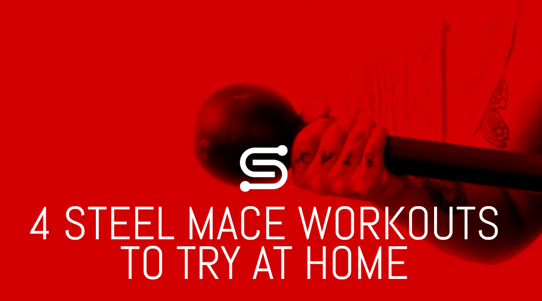 4 Steel Mace Workouts to Try at home