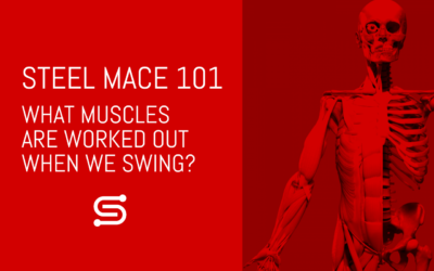 What muscles are worked out during the Steel Mace 360 and 10-to-2?