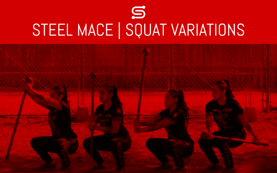 4 Steel Mace Squat Variations You Probably Haven't Tried