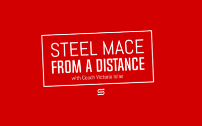Steel Mace from a Distance – Fighter Workout