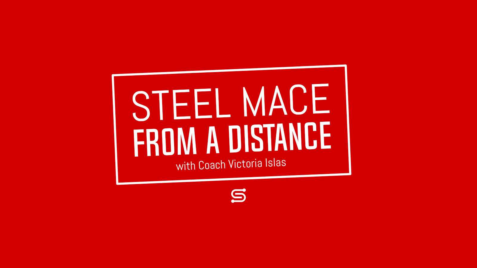 Steel Mace from a Distance – Tabata Workout