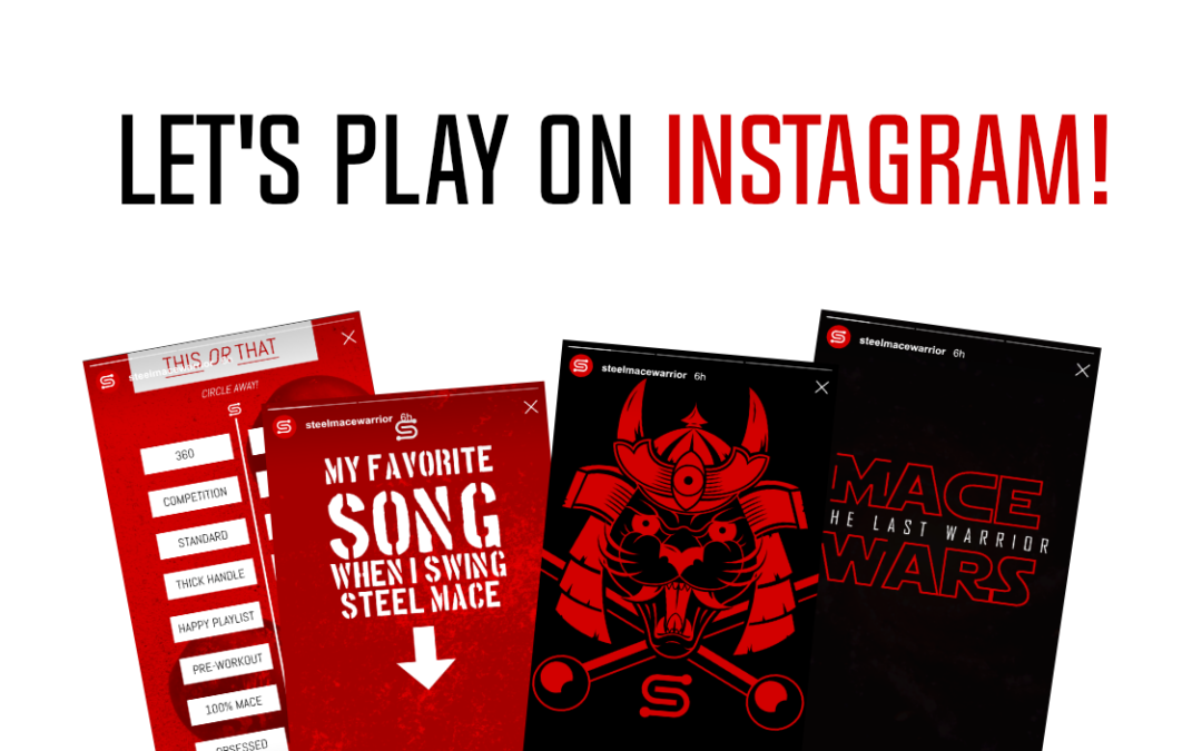 Steel Mace Instagram Games and Wallpapers