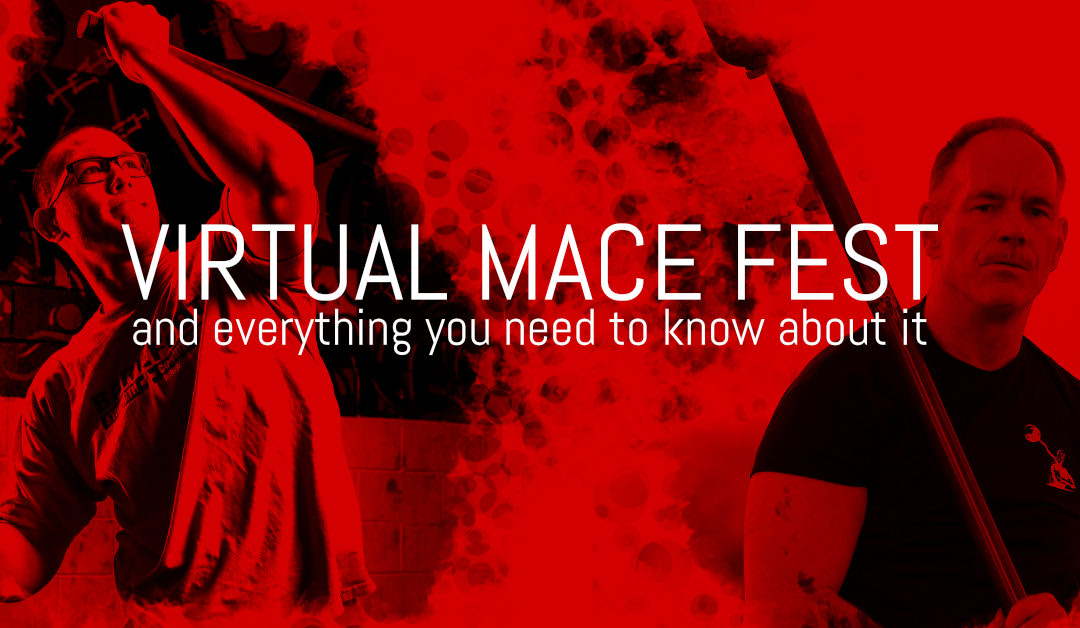 Our very first Virtual Mace Fest and everything you need to know about it