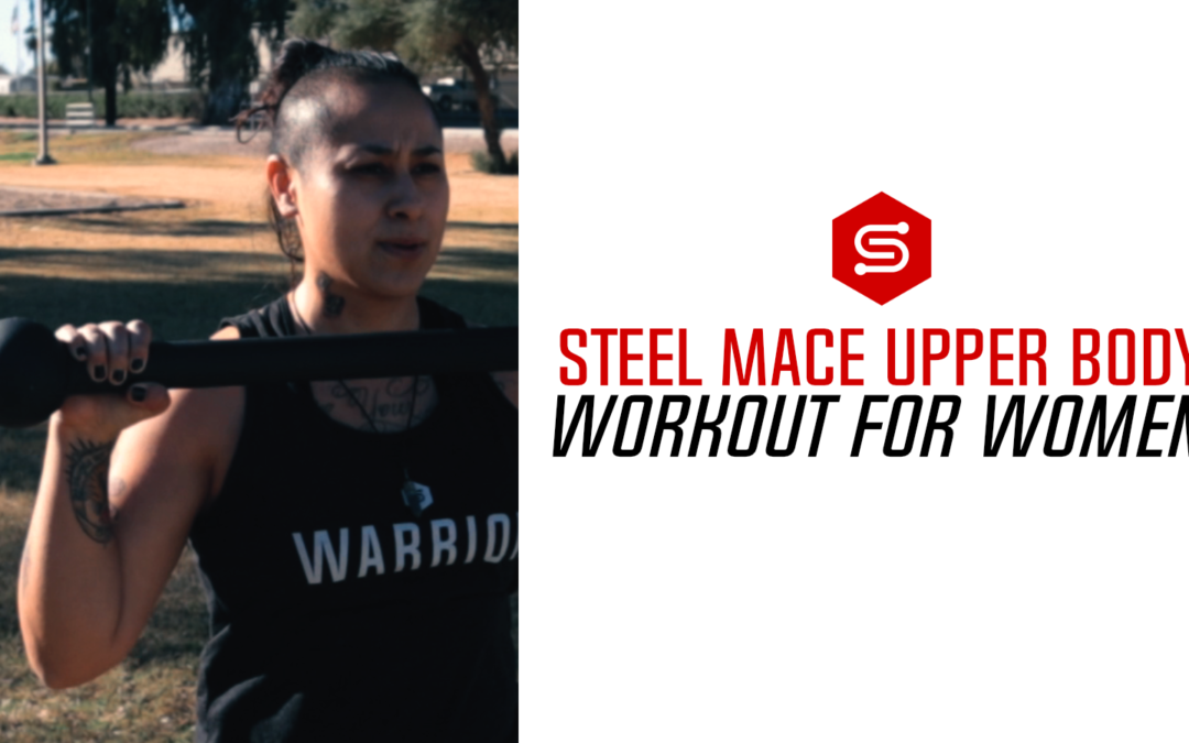 Steel Mace Upper Body Workout for Women